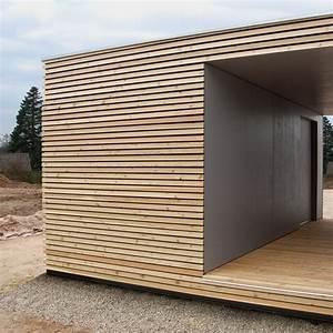 Carport Holz Modern : architekt design gartenhaus ~ Markanthonyermac.com Haus und Dekorationen