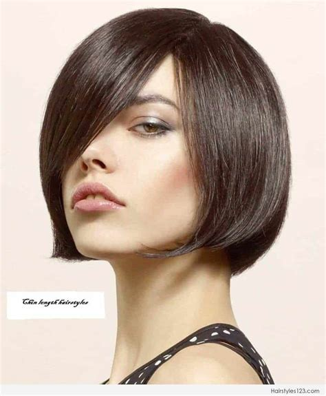 chin length hairstyles  thick hair womenstylescom