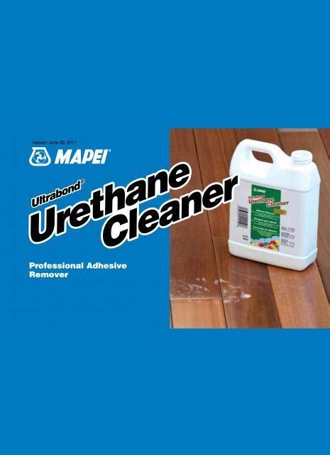 Mapei Ultrabond Urethane Cleaner Professional Adhesive