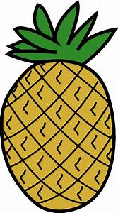 Clipart - Pineapple 3