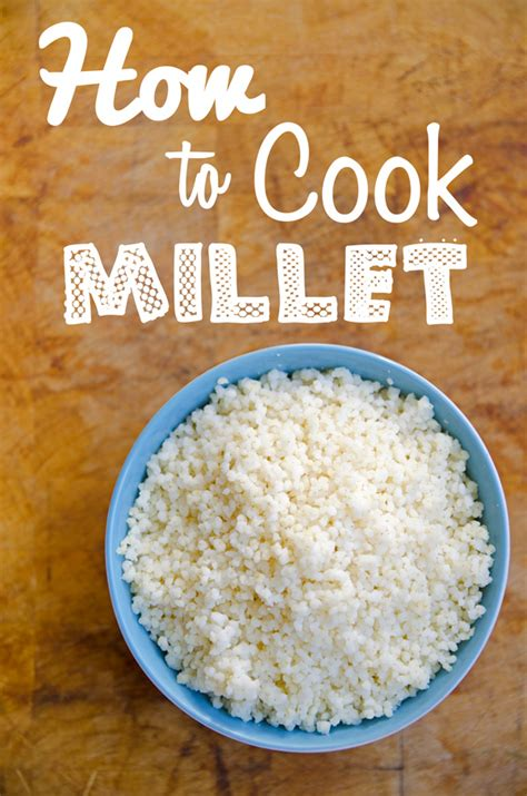 How To Cook Fluffy Millet Fablunch