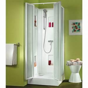 Cabine De Douche 80x80 : cabine de douche 80x80 cm acc s de face par portes ~ Edinachiropracticcenter.com Idées de Décoration