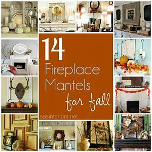 14 Festive Fireplace Mantels for Fall - Jenna Burger