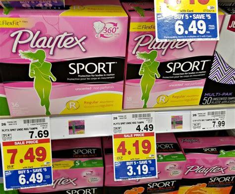 Sport Tampons Just .69 At Kroger