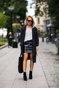 How To Style Black mini LEATHER SKIRTS? u2013 The Fashion Tag Blog