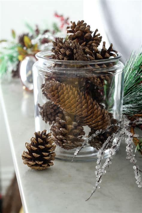 deko weihnachten zapfen diy deko 30 herbstliche deko ideen mit zapfen basteln