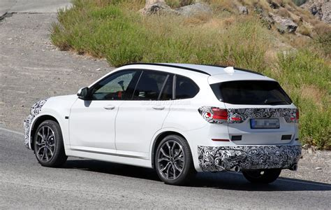 2019 Bmw X1 Lci Spied Hot-weather Testing In Europe