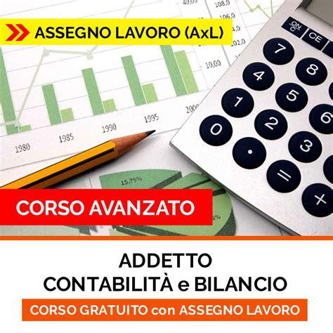 dispense contabilità equasoft addetto contabilit 224 e bilancio assegno lavoro