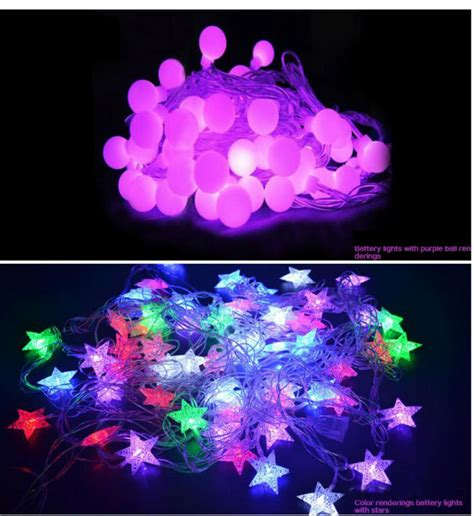 individual led lights for crafts home decoration battery operated mini led lights for