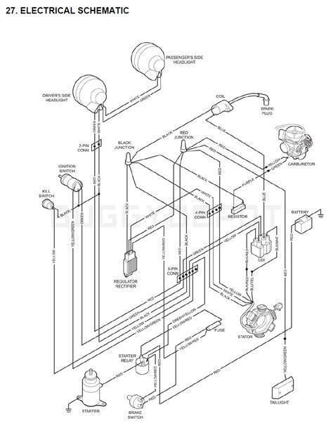 Yerf Dog Wiring Diagram Kart Buggy Depot
