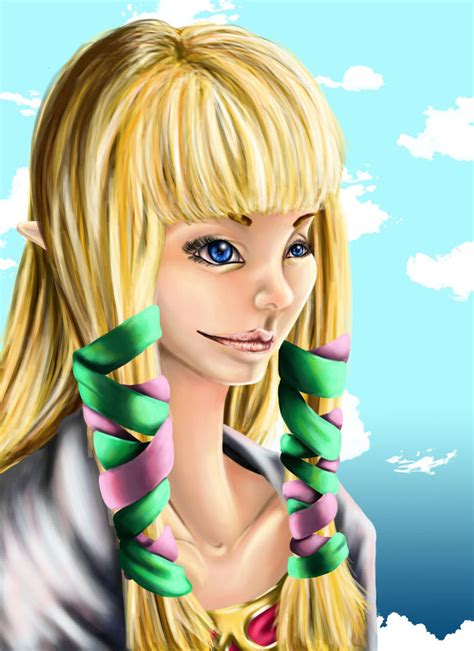Princess Zelda Skyward Sword By Saidorak On Deviantart