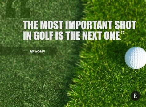 Inspirational Golf Quotes Sayings