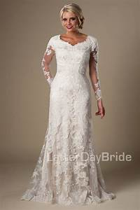 modest wedding dresses caymbria With mormon wedding dress