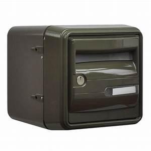 Boite Aux Lettres Grise : boite aux lettres b1 corail ext rieur de couleur grise ~ Dailycaller-alerts.com Idées de Décoration