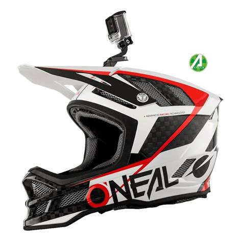 downhill helm mit brille oneal blade carbon ipx downhill helm weiss mit two x