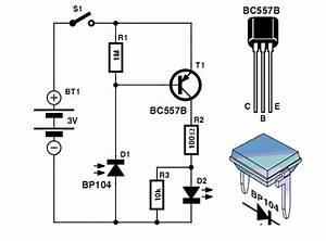 Ir  Infrared  Detector Circuit Diagram