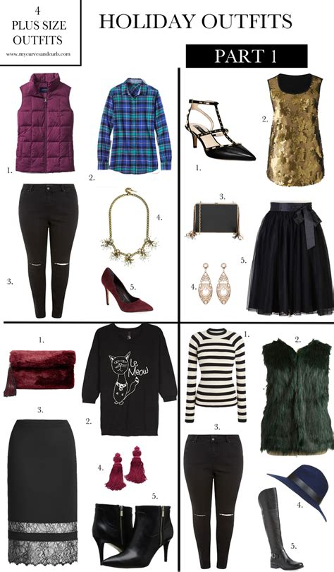 16 Stylish Plus Size outfits perfect for the holiday season (Part 1) - My Curves And Curls