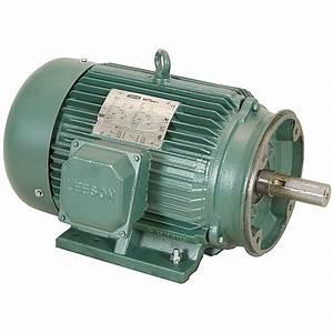 10 Hp 1800 Rpm 230  460 Vac 3ph 215tc Leeson Motor