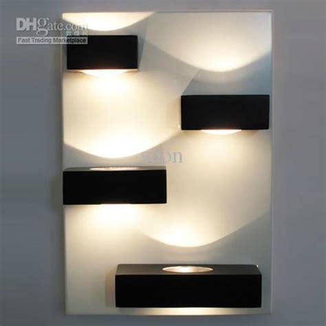 modern minimalist white black acrylic wall l