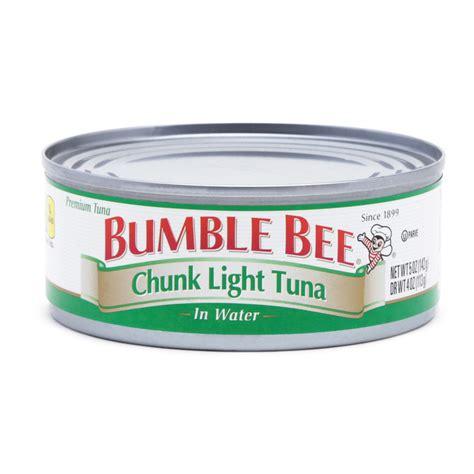 bumble bee chunk light tuna bumble bee chunk light tuna in water 5 oz hollar so