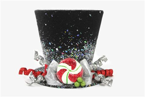 christmas tree topper top hat tree topper christmas table