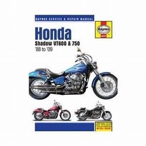 Haynes Motorcycle Repair Manual For Honda Vt 600  750