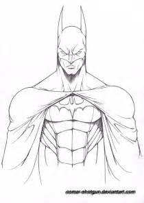 Batman Line Drawing