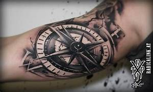 Kompass Tattoo Mann : radical ink tattoo compass tattoos von tattoo ~ Frokenaadalensverden.com Haus und Dekorationen