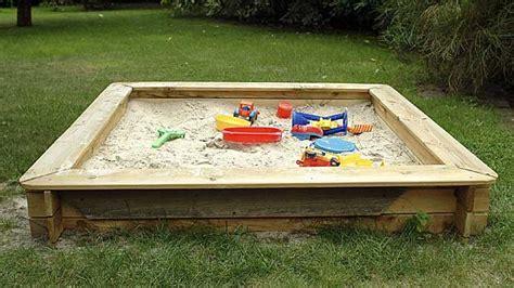 Tipps Für Den Garten by Sandkasten Aus Holz Tipps