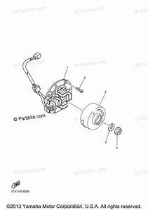 Yamaha Motorcycle 2008 Oem Parts Diagram For Generator