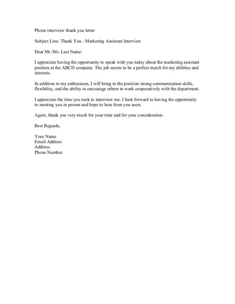 thank you letter for job interview phone thank you letter 25105 | phoneinterviewthankyouletter 130727101740 phpapp01 thumbnail 4