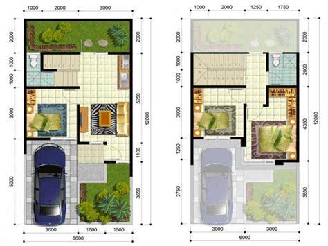 desain denah rumah minimalis 3 kamar tidur sederhana 2017