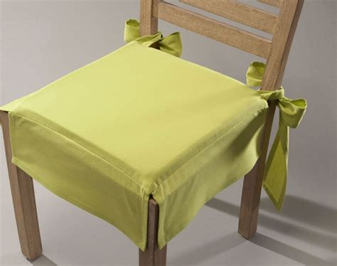 galette de chaise volantée housse de galette de chaise uteyo