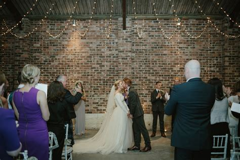 rustic wedding at kinkell byre barn scotland with