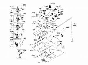 Bosch Hgs3063uc  12 Gas Range Parts