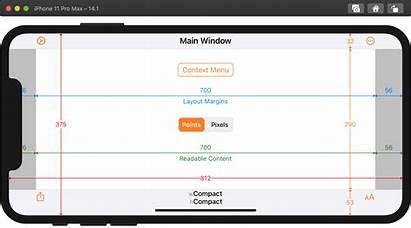 Ios Iphone Display Xcode Adaptivity Running Build