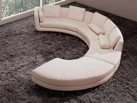 contemporary curved sectional sofa large round curved sofa sectional home sofas
