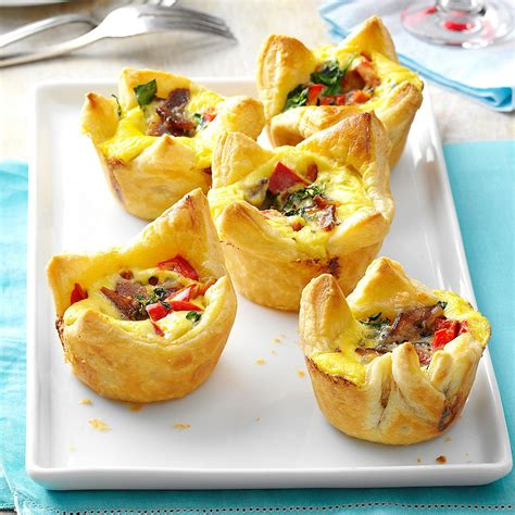 filo pastry cases canapes quiche pastry cups recipe taste of home