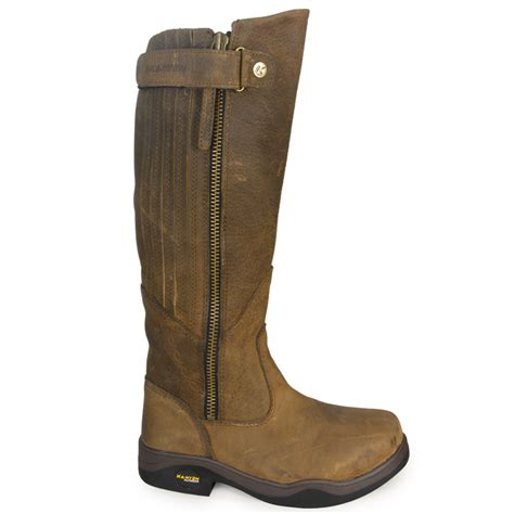 boots riding horse stable equestrian leather yard long ladies rider gorse sizes kanyon waterproof womens country walking xwide regular wide