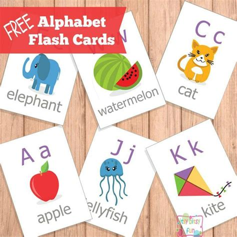 printable abc flash cards  images abc