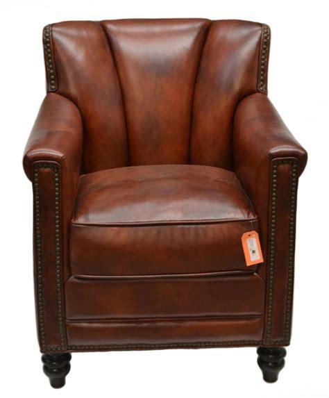 Leder Farbe Cognac by 50 Cognac Color Quot Gibson Quot Leather Club Chair Lot 50