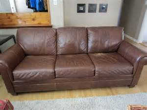 ethan allen leather sofa south regina regina
