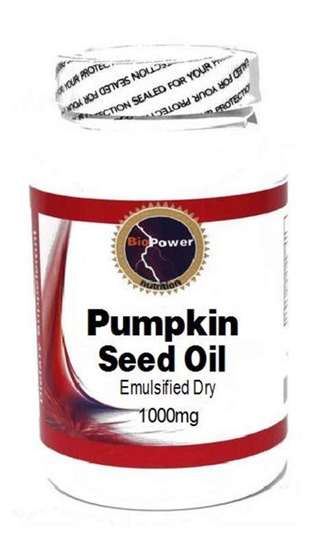 Pumpkin Seed Oil Capsules Hair by Pumpkin Seed Oil 1000mg 100 Capsules Biopower Nutrition