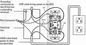 electrical how do i install a gfci receptacle with two With wiring diagram together with telephone jack wiring diagram on 4 wire