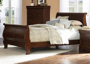Woodwork Cherry Wood Sleigh Bed PDF Plans