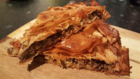cuisine 750g pie albanian byrek me mish pite me mish