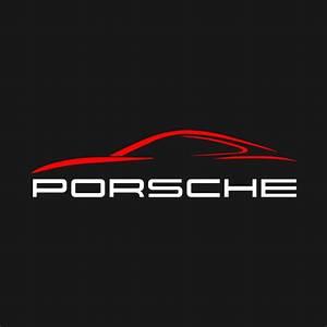 Porsche Porsche Logo T Shirt TeePublic