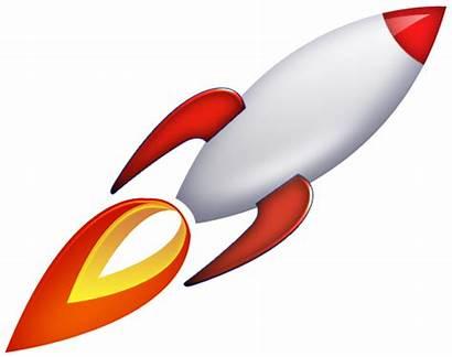 Rocket Space Ship Rockets Transparent Icon Vector
