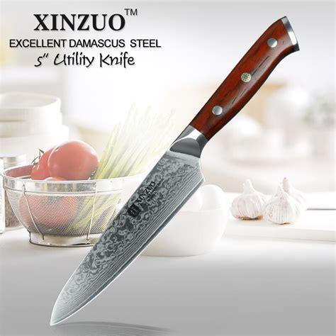 best kitchen knives brand aliexpress buy xinzuo brand 5 quot inch utility knife