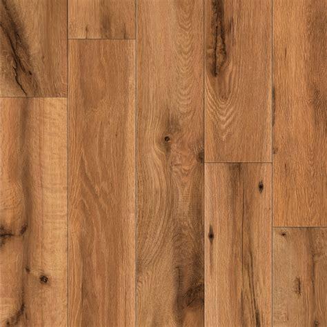 Shop Allen Roth 4 96 In W X 4 23 Ft L Lodge Oak Wood